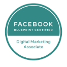 Facebook blueprint Certified Digital Marketing Associate