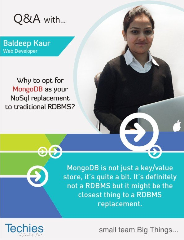 Why to opt for MongoDB as your NoSQL Replacement to traditional RDBMS