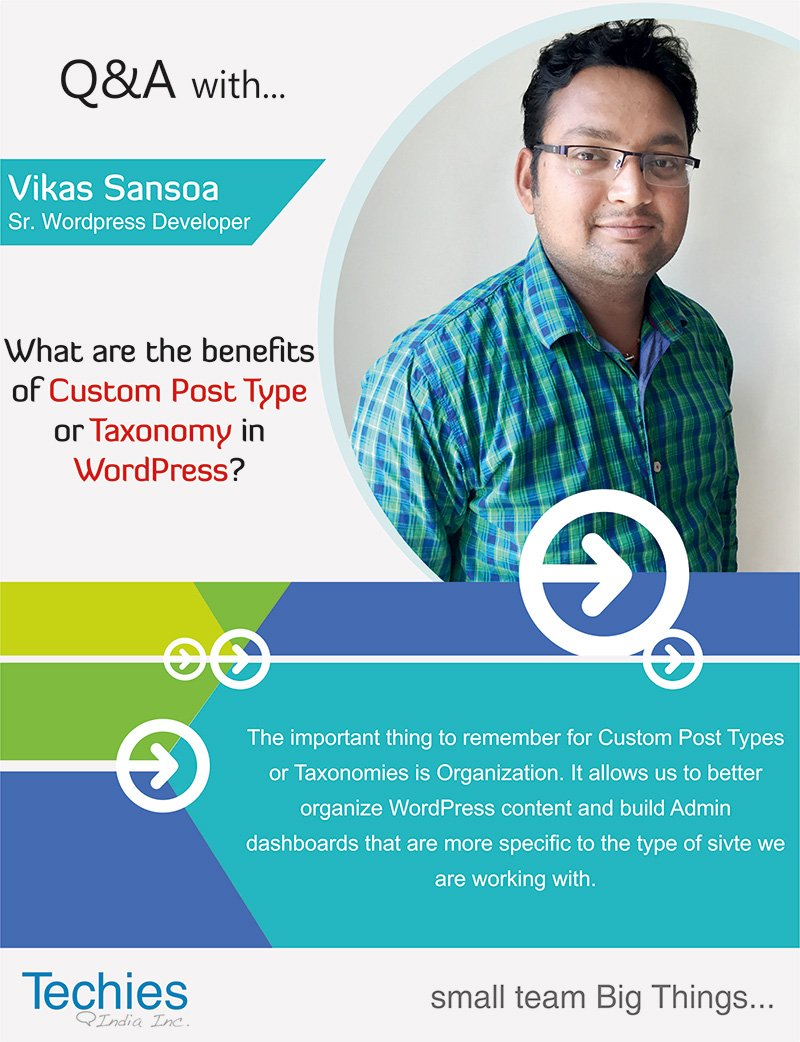 What are the benefits of Custom Post Type or Taxanomy in WordPress