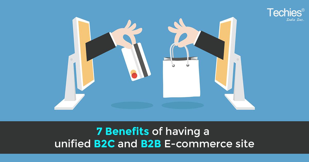 Benefits of unified B2C & B2B eCommerce sites