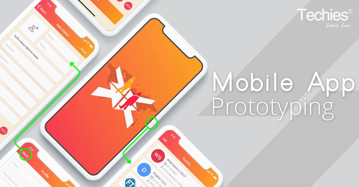 Mobile App Prototyping   Techies India Inc