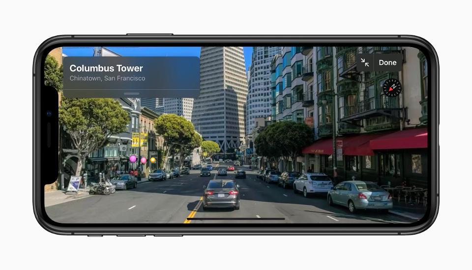 iOS 13 Street View