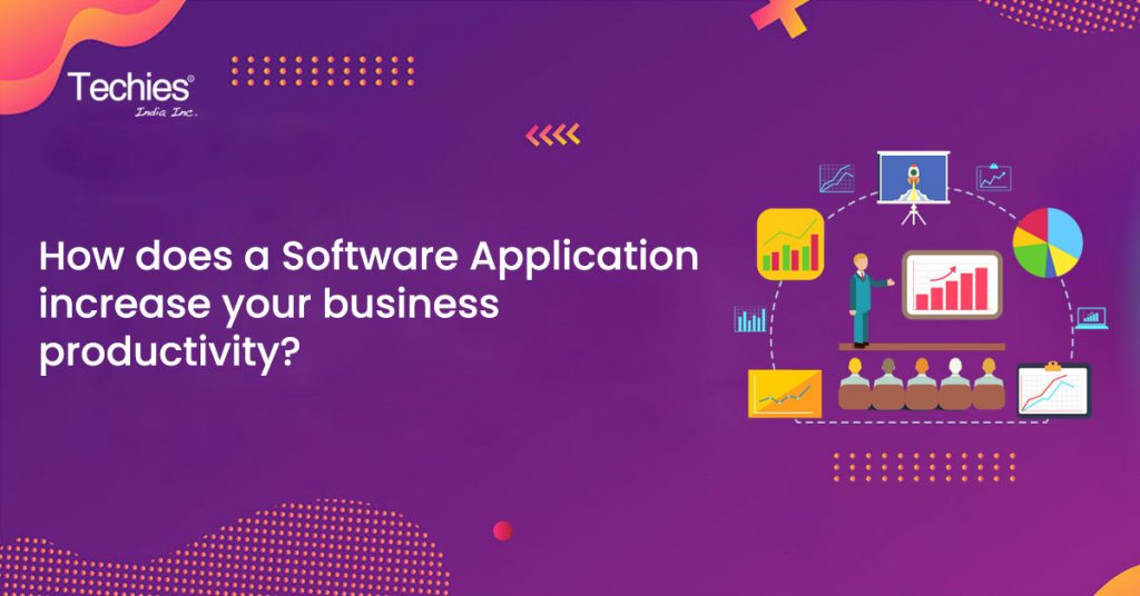 How does a software application increase your business productivity