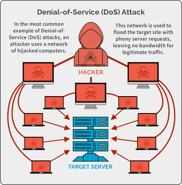DDoS (Distributed Denial of Service) Attacks