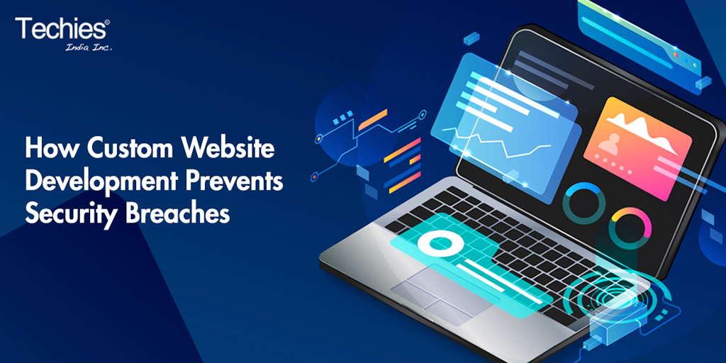 how custom website development prevents security breaches
